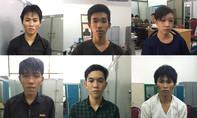 Băng trộm cướp gây án hàng loạt ở vùng ven Sài Gòn sa lưới