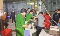 Thu giữ 13 tấn tiền chất trong xưởng sản xuất ma túy cực lớn tại Kon Tum