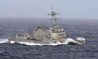 Tàu khu trục Mỹ tiếp tục tuần tra Biển Đông
