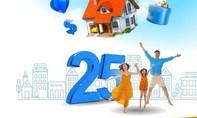 MB 25 năm đồng hành: Miễn phí – nhận quà – trúng nhà tiền tỷ
