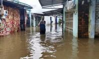 Dân Phú Quốc bỏ nhà sơ tán vì bị ngập nặng