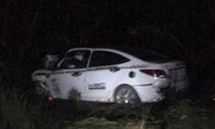 Ô tô lao vào hàng cây bên đường, tài xế tử vong tại chỗ