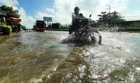 Nhiều nơi ở Vĩnh Long ngập nặng do triều cường