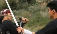 Cận cảnh màn đọ kiếm nghẹt thở của hai cao thủ Samurai