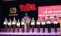 Trao bằng tốt nghiệp cho hơn 800 tân sỹ quan An ninh
