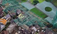 Bão lớn ập vào miền trung Nhật Bản khiến Tokyo tê liệt