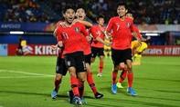 U23 châu Á: Clip trận Hàn Quốc thắng Trung Quốc ở phút cuối cùng
