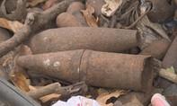 Phát hiện đối tượng cưa bom mìn đem bán số lượng lớn