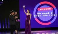 Hương Giang giành giải Nữ nghệ sĩ được yêu thích