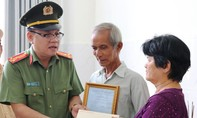 Thăng cấp bậc hàm cho Cảnh sát hy sinh khi làm nhiệm vụ