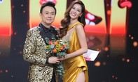 Hoa hậu Khánh Vân yêu kiều sắc vàng bên Chí Tài