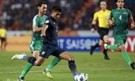 Clip trận Thái Lan hòa Iraq, vào tứ kết U23 châu Á