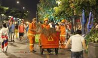 Gần 2.000 công nhân vệ sinh TPHCM làm xuyên đêm, xuyên Tết