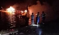 Tàu của ngư dân cháy lớn, thiệt hại hơn 2 tỷ đồng