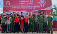 Tuổi trẻ Công an tỉnh Đắk Lắk tình nguyện hiến máu