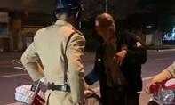 Vi phạm nồng độ cồn, người đàn ông đi xe đạp bị phạt 500 ngàn đồng