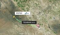 Máy bay Boeing 737 của Ukraine chở 180 bốc cháy trên bầu trời Iran