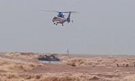 Trực thăng và đặc công đã cứu được toàn bộ 8 người trên tàu Vietship 01