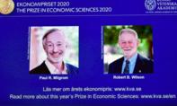 Nobel Kinh tế về tay hai kinh tế gia Mỹ nghiên cứu và phát triển thuyết đấu giá