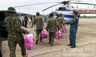 Trực thăng đã được điều đến tìm kiếm 30 người mất tích ở Rào Trăng