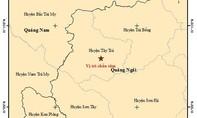 Liên tiếp xảy ra hai trận động đất ở huyện Tây Trà