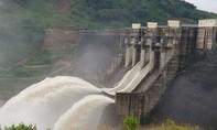 Mưa lớn ở vùng núi Quảng Nam, thủy điện Sông Tranh 2 và Đăk Mi 4 xả lũ