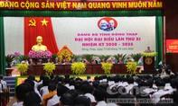 Khai mạc Đại hội đại biểu Đảng bộ tỉnh Đồng Tháp lần thứ XI
