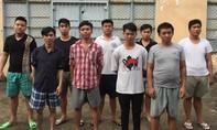 """""""Xin đểu"""" không được, nhóm côn đồ đập phá quán karaoke ở Sài Gòn"""