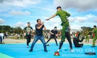 Khai mạc Hội thi bắn súng, võ thuật cho lực lượng CAND trực tiếp chiến đấu