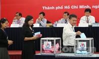 Bầu Ban Chấp hành khoá VIII và đại biểu đi dự Đại hội XI Hội Nhà báo Việt Nam
