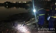 Người phụ nữ nhảy từ phà xuống sông, nhân viên quăng phao nhưng không bám