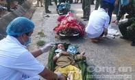 Hình ảnh cứu 33 người vụ sạt lở ở Quảng Nam, nhiều người bị thương nặng