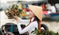 Hoa hậu Phan Thị Mơ quảng bá chợ nổi Cái Răng