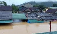 Mưa lớn kèm thủy điện xả lũ, Nghệ An ngập trên diện rộng