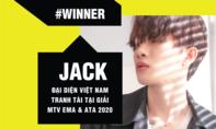 Jack đại diện Việt Nam tham dự MTV EMA 2020
