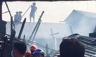 Cháy lớn ở Cần Thơ, 3 căn nhà bị thiêu rụi