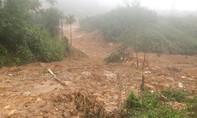 Lở núi khiến cả ngôi làng ở miền núi Quảng Ngãi ngổn ngang bùn đất