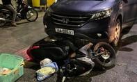 Nữ tài xế lái ôtô tông xe máy chở thai phụ đi sinh, kéo lê hơn 500m