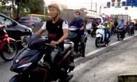 TPHCM: Tái diễn nạn chạy xe ngược chiều, bất chấp tính mạng