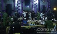 Đột kích quán bar ở Bình Dương, phát hiện gần 80 người dương tính ma tuý