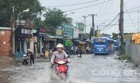 Làng đại học Quốc gia TPHCM ngập lênh láng sau mưa
