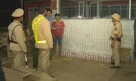 Đắk Lắk: Bắt vụ vận chuyển thuốc lá lậu lớn nhất từ trước đến nay