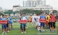 Tổ chức giải bóng đá hướng về đồng bào miền Trung