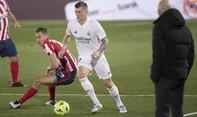 Clip trận Real hạ Atletico 2-0, lên vị trí thứ 3