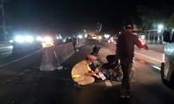 Tai nạn trên đoạn đường đang lắp đèn chiếu sáng, 2 thanh niên thương vong