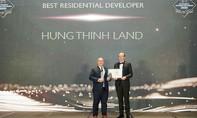 """Hưng Thịnh Land được vinh danh """"Best Residential Developer Southeast Asia 2020"""""""