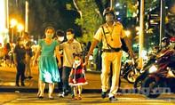 TPHCM: CSGT tung quân ra mọi ngả đường để Giáng sinh vui tươi, an lành