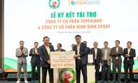 Tài trợ 300 tỷ đồng cho CLB bóng đá Topenland Bình Định