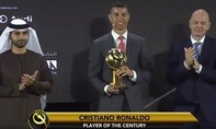 Siêu sao Ronaldo nhận giải Cầu thủ hay nhất thế kỷ