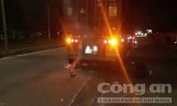 Tai nạn liên hoàn, xe container cán tử vong một thanh niên